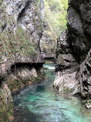 Narrows of Vintgar Gorge, Slovenia