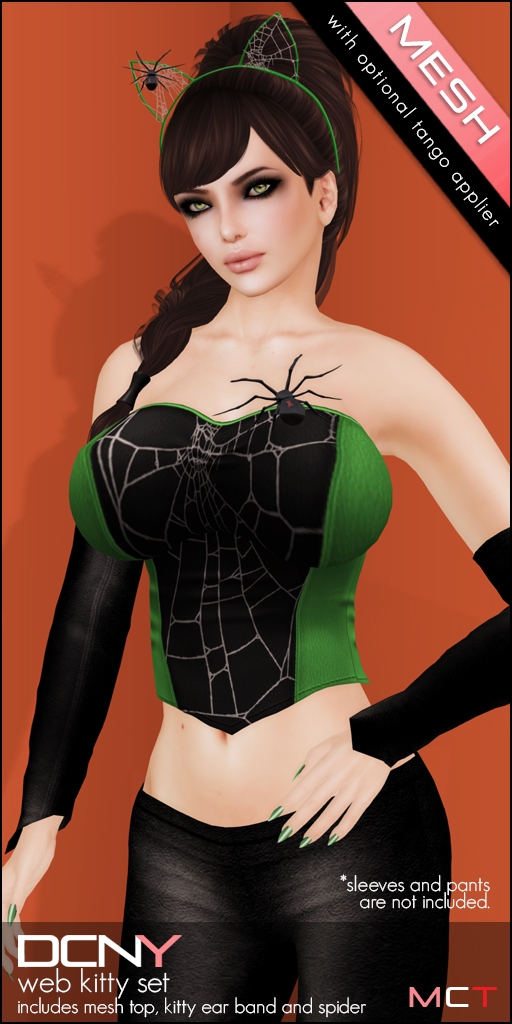 DCNY Web Kitty Set