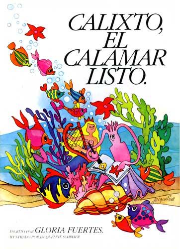 Cubierta de Calixto, el calamar listo