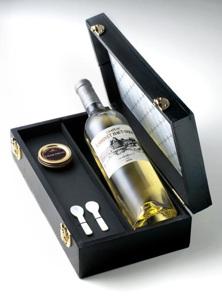 Coffret caviarvin blanc
