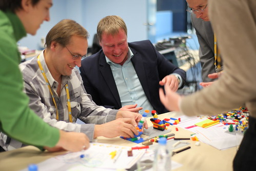 Lego Serious Play Exercise with SAP