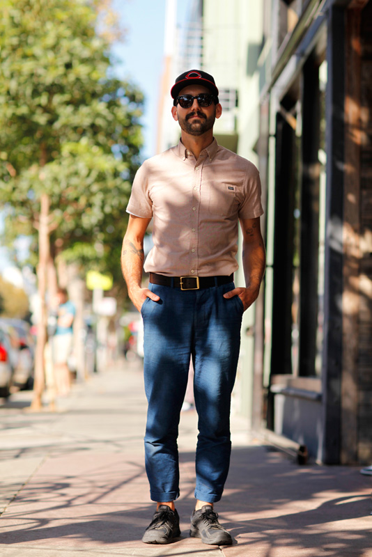 matt_4-B men, Quick Shots, San Francisco, street fashion, street style, Valencia Street
