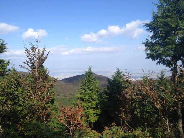 笙ヶ岳 山頂からの展望