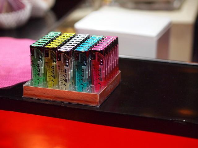 2013.9.6 サワディー 店内 ライター