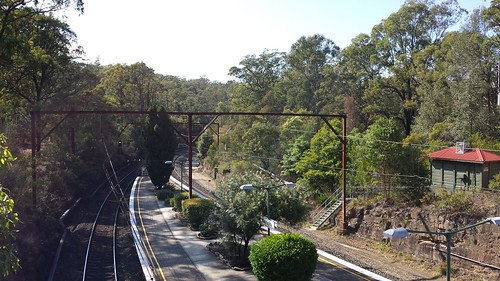 Train Ride To Blue Mountains
