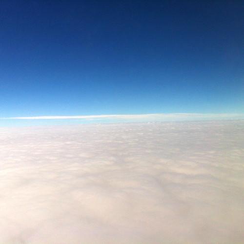 Georgia O'Keeffe's sky