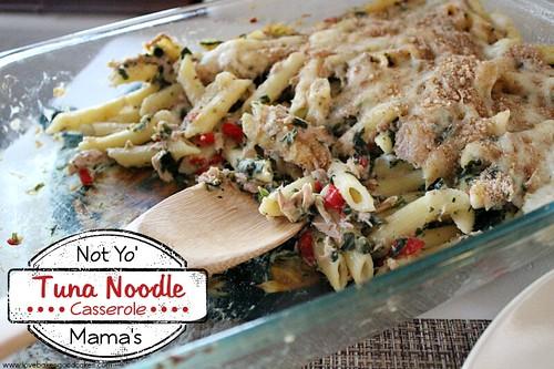Not Yo' Mama's Tuna Noodle Casserole 3