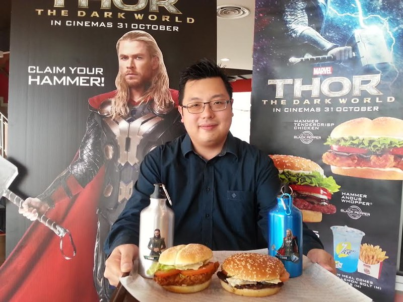 burger king thor hammer meals