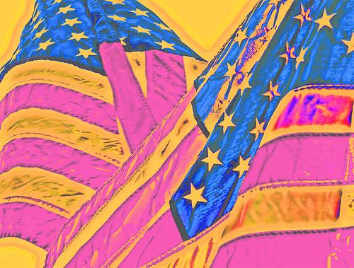 USA Flag Abstract Design Series, 9 of 14