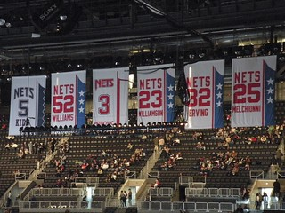 Nets Retired Numbers
