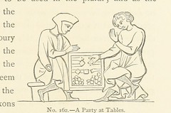 "British Library digitised image from page 257 of ""The Homes of other days: a history of domestic manners and sentiments in England from the earliest known period to modern times"""