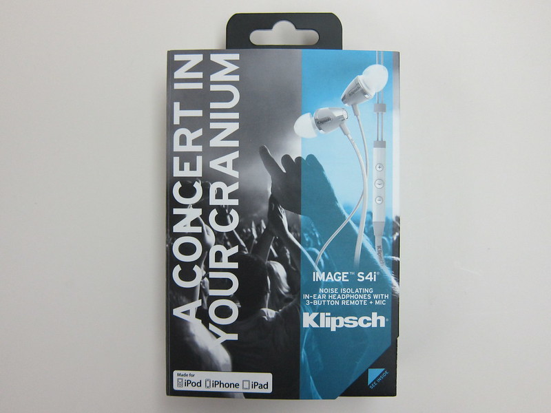 Klipsch Image S4i II - Box Front