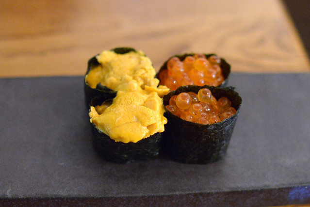 Santa Barbara Uni and House-marinated Ikura