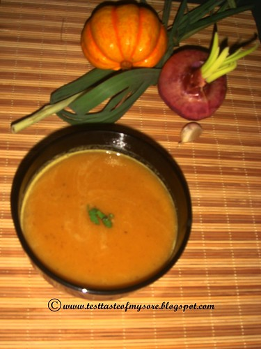 PUMPKIN,CHICKPEA& LEMONGRASS SOUP