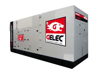groupe électrogène gelec diesel industriel 600 kVA