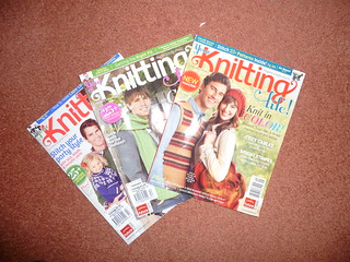 Knitting Life Magazines for Sale £1.00 each plus postage. New Year Clear Out!
