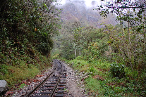 Railroad Tracks Machu Picchu