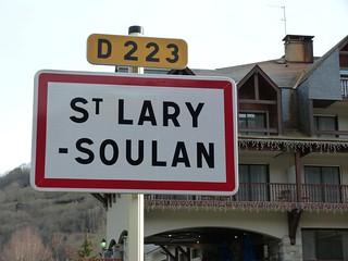 Cartel de Saint-Lary-Soulan (Francia)