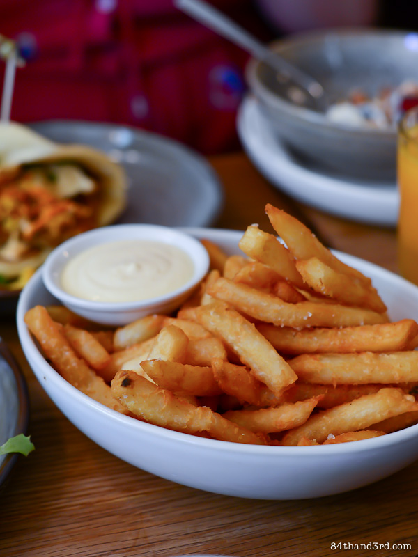 Three Williams Cafe - Sydney - Hot Chips
