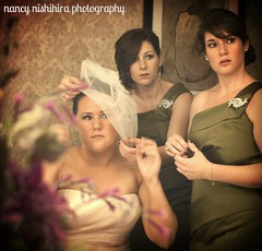 Melanie and Bridesmaids