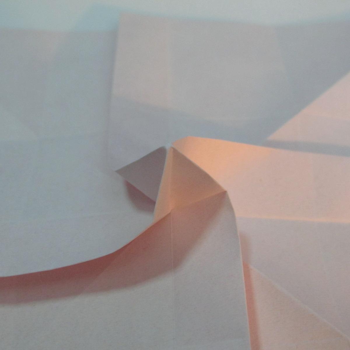 วิธีพับกระดาษพับดอกกุหลาบ 023