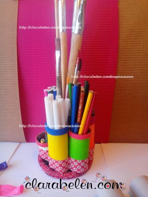 Inspiraciones Manualidades Y Reciclaje Organizar El Escritorio