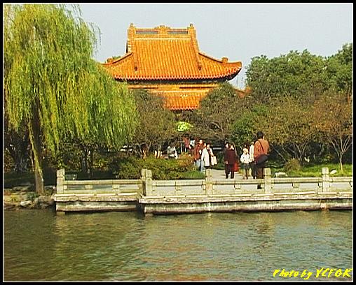 杭州 西湖 (其他景點) - 383 (西湖 湖上遊 往湖心亭 湖心亭上的亭台樓閣)