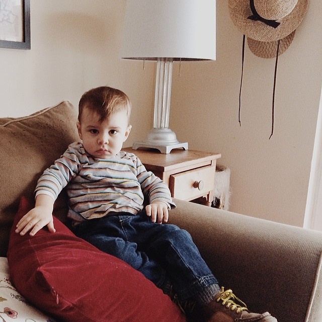 Serious manchild.  #instaluther #toddler