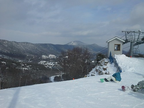 Massanutten Ski slopes view