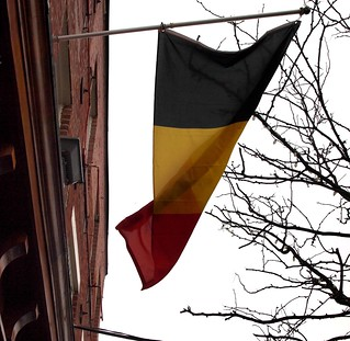 Belgian flags fly at Maxs (02)