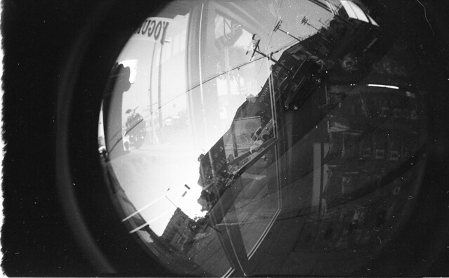 Found Film: Michelle's Fisheye Film