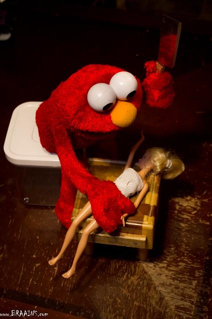 BAD Elmo!!