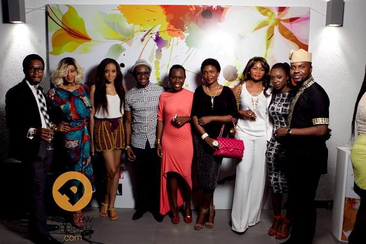 Charles, Munachi, Ezinne, Bez, Tara, Omoni, Eunice, Temi and Adebola
