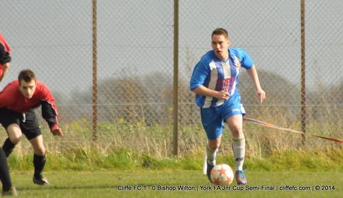 Cliffe FC 1 - 0 Bishop Wilton 15Mar14
