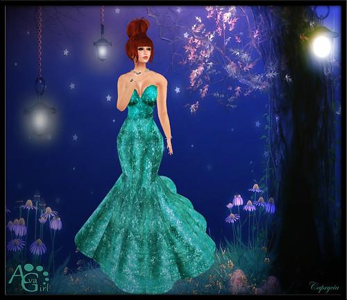 Sparkling For Ava Girl by Caprycia ♕VeraWangMF2014♕