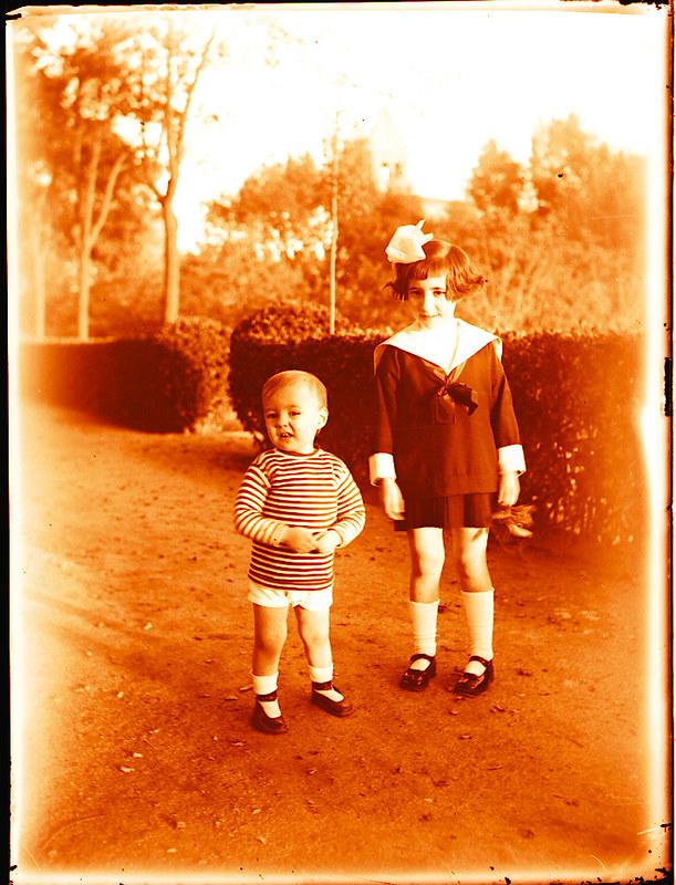 Paseo de Merchán hacia 1910. Fotografía de Pedro román Martínez © Fondo Rodríguez. Archivo Histórico Provincial de Toledo. JCCM. Signatura R-142-3-06