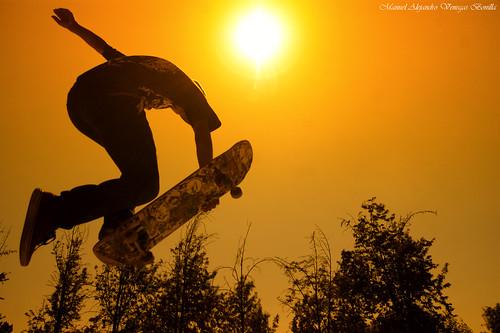 Santiago Skater. by Alejandro Bonilla