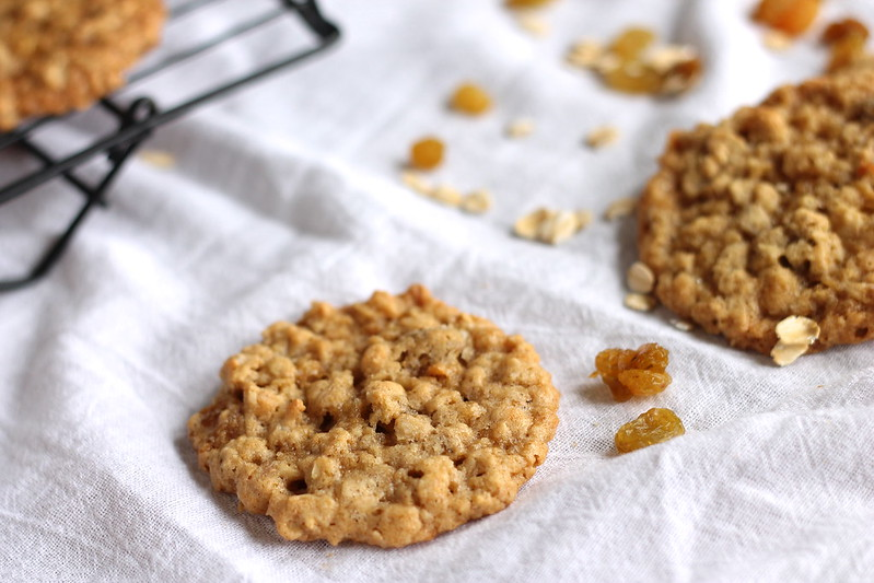 Alaska Oatmeal Raisin Cookies