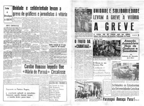Imagens Antigas do Jornalismo no Paraná