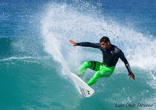 Surf en la Lanzada
