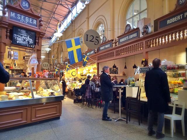 Östermalms Saluhall, Stockholm, Sweden