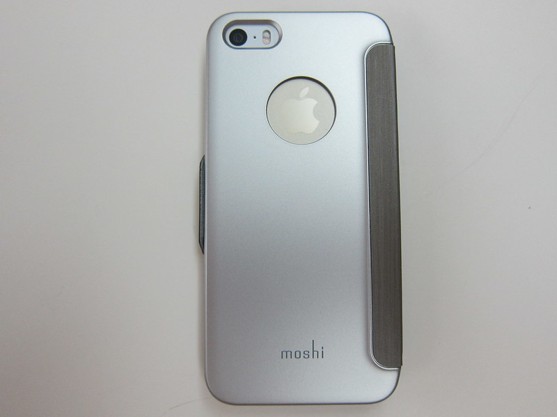 Moshi SenseCover for iPhone - With iPhone 5s Back