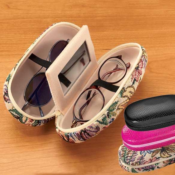 double eyeglass case