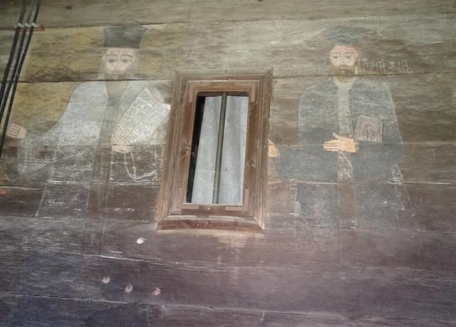 pictura bisericii de lemn 5