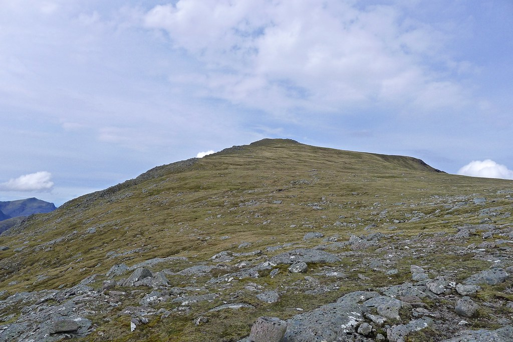 Eastern slopes of A' Mhaighdean