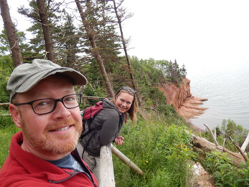 Five Islands Provincial Park - Red Head trail - 2