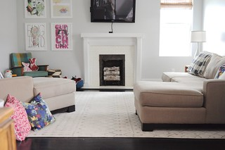 Deconstructing the Living Room Sectional | by emily @ go haus go