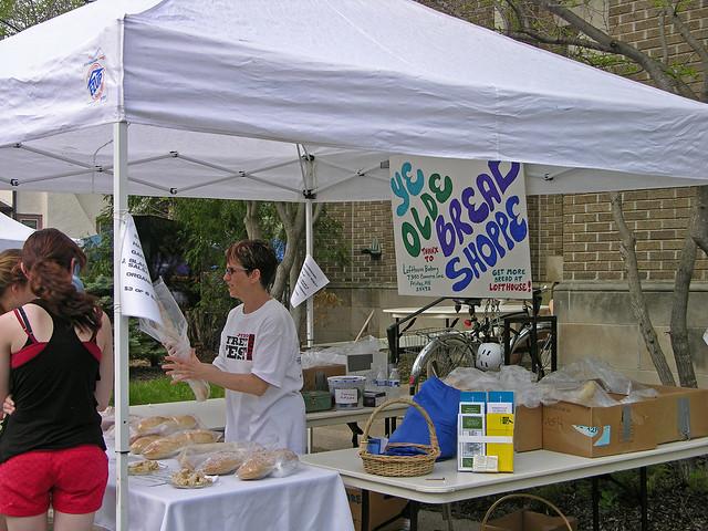 Judson Street Fest 2013 Bread Shoppe booth