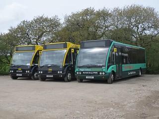 Norfolk Green 604 Y58HBT on loan at Western Greyhound