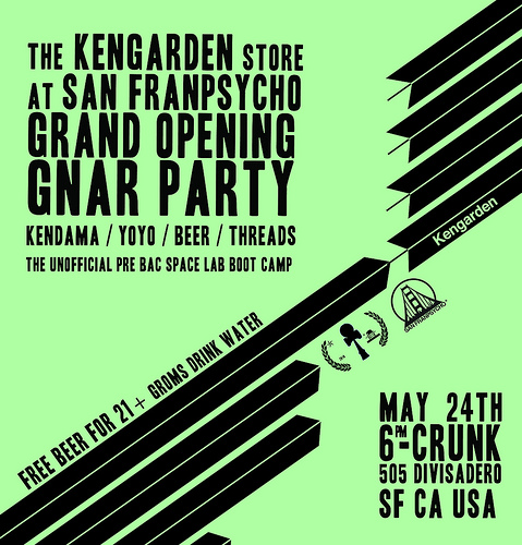 Kengarden Pop Up Shop Flyer